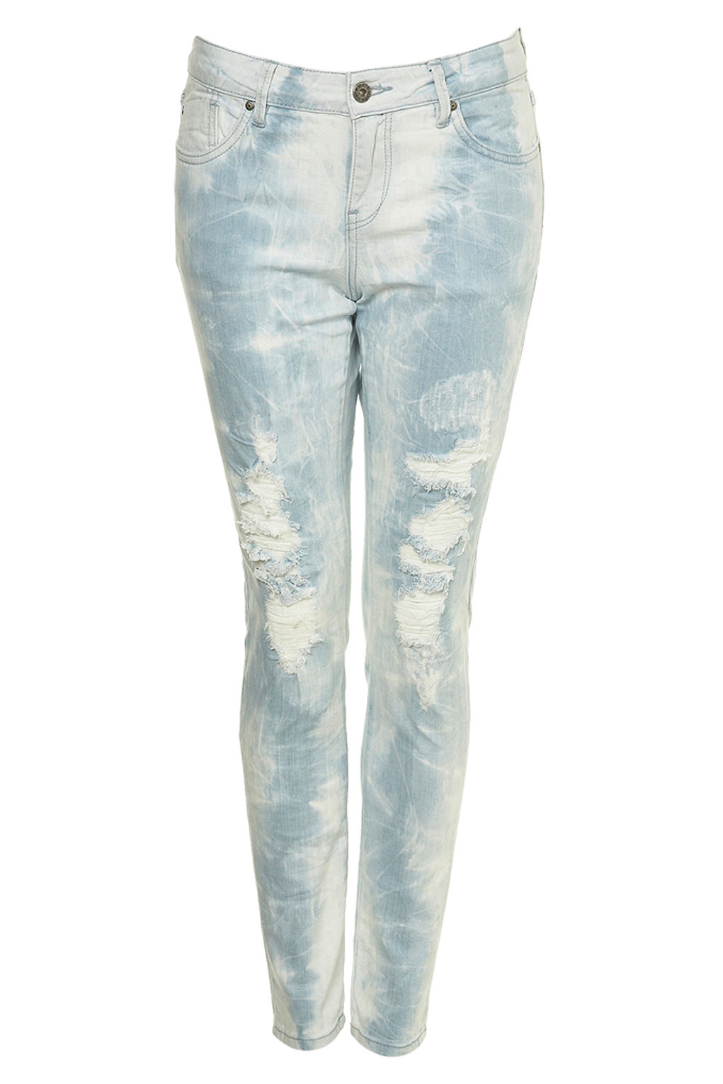 Bleached torn skinny jeans – Global fashion jeans models