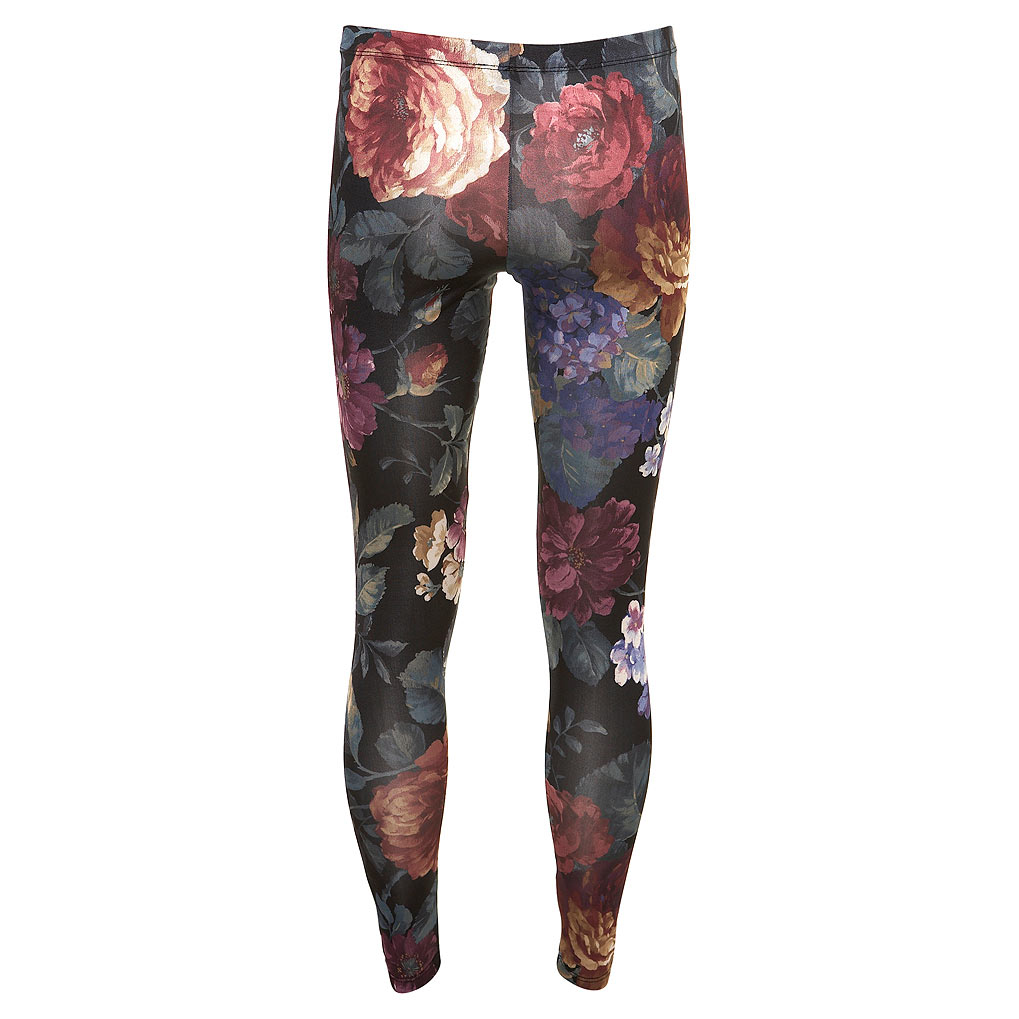 Floral print leggings 2