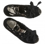 gaga shoes black suede 3