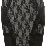 lace black lovely skirt