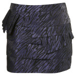 ZEBRA TIER SKIRT £35
