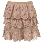 anglais tier skirt