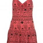 heart scribble dress