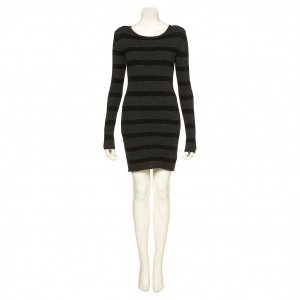 knit jumper wool boutique dress stripe