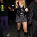 lindsay-lohan-and-topshop-stripe-lace-playsuit-gallery