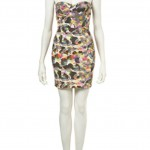 painted petal bandeau dress 1