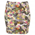 painted petal skirt