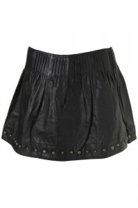 leather studded skirt 1