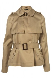 BEIGE TRENCH MINI