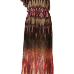 feather dress one shoulder
