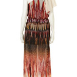 feather dress one shoulder2