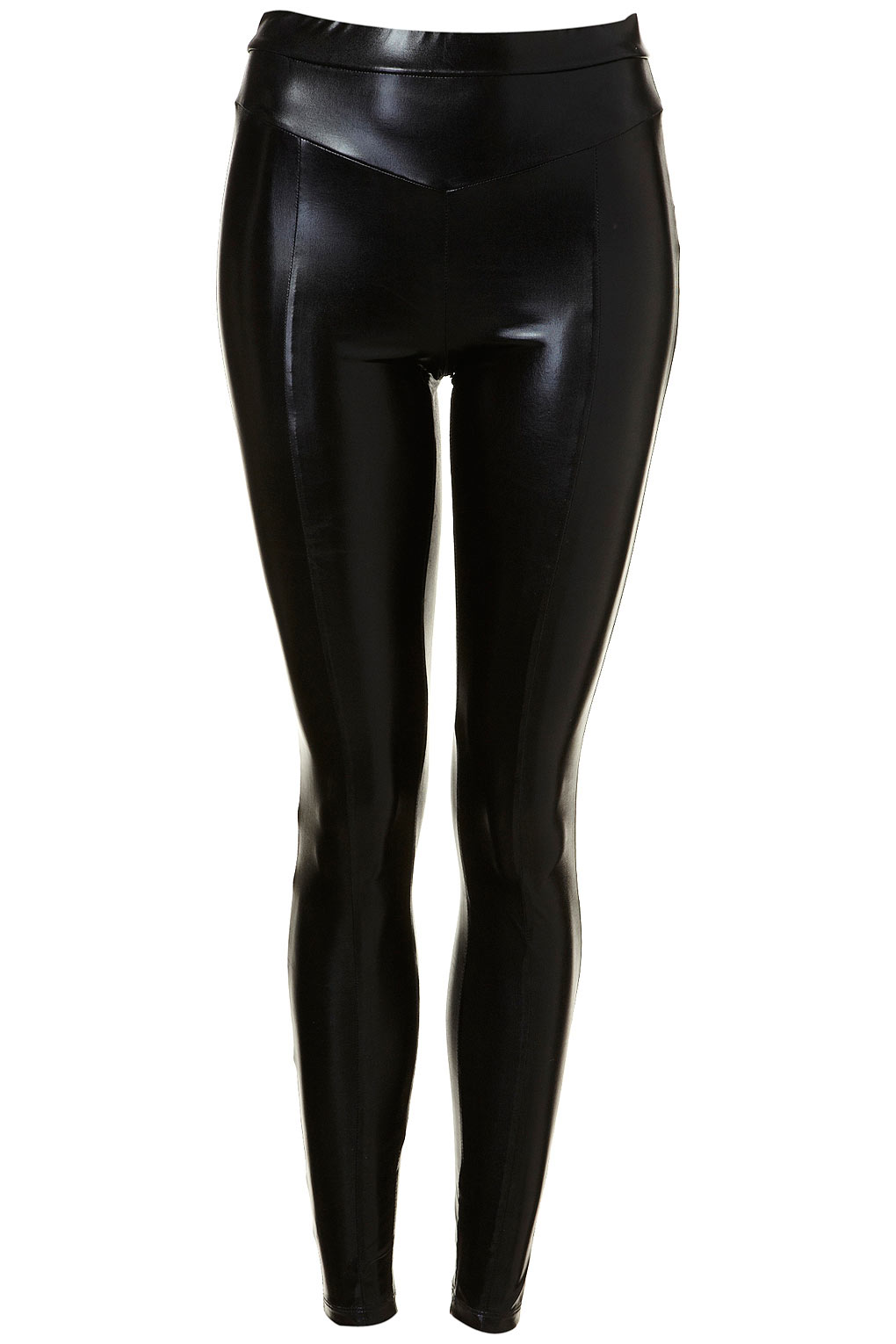 Topshop Black Wetlook Pvc Shiny Leggings Toppingyou Blog