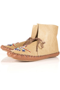 cute montana moccasin booties