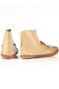 cute montana moccasin booties back