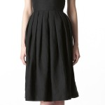 linen black 50s sundress dress